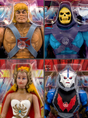 Masters of the Universe Vintage Wave 1 Set of 4 - $80