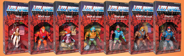 Masters of the Universe Vintage (Los Amos) Exclusive Figures