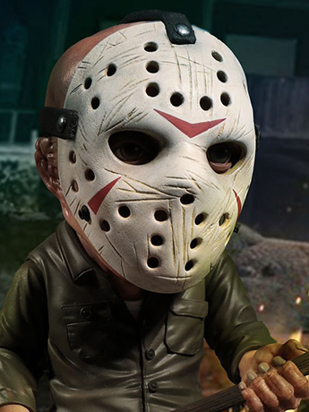 Friday The 13th Deluxe Stylized Jason Figure - Mezco & More
