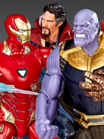 Legends Iron Man, Thanos, Doctor Strange Three-Pack