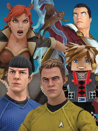 New Diamond Select Preorders! Star Trek, Kingdom Hearts, Marvel, Aquaman, Watchmen & More!