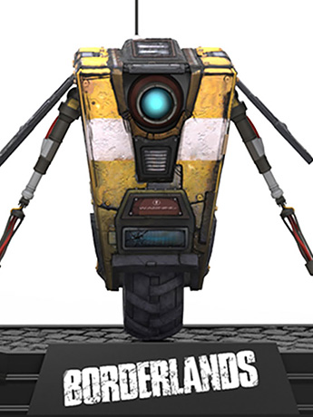Borderlands 2 Claptrap & Zer0 Figures