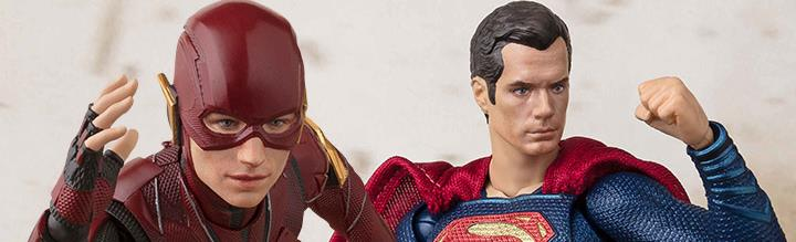 Justice League S.H.Figuarts & More