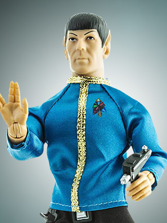 "Star Trek 8"" Mego Figures"