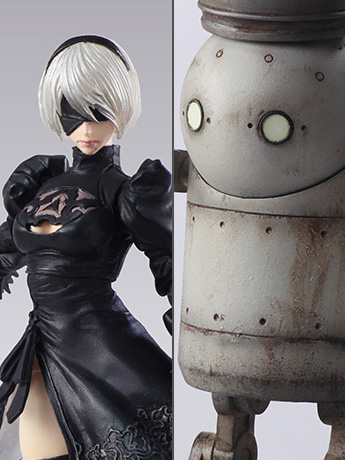 Nier: Automata Bring Arts 2B & Machine Lifeform Set by Square Enix