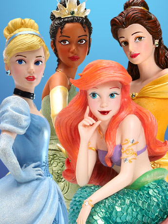 Disney Showcase Couture De Force Figurines
