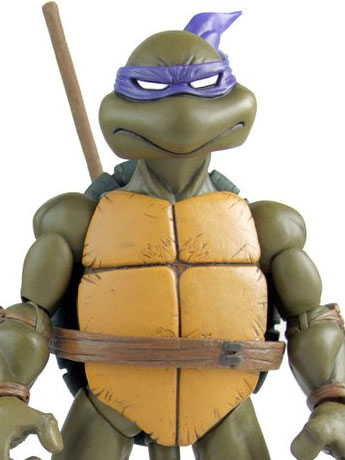 Mondo TMNT 1/6 Scale - Donatello, Leonardo, Mouser 2-Pack In Stock