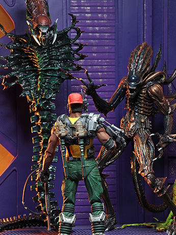 New NECA Aliens Series 13, AvP Dutch & Linn, Predator