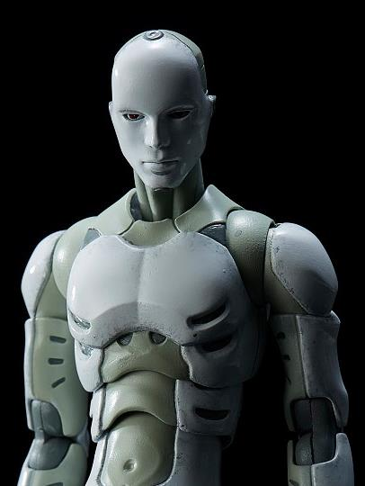 Synthetic Human and Robox 1/12 Scale Figures