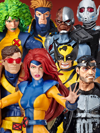 SDCC Reveals: Marvel Legends X-Men, Deathlok, Punisher, Giant-Man