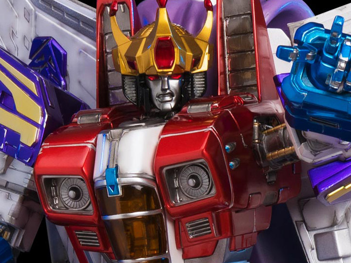 Transformers G1 Starscream (Coronation on Throne) Statue (LE 400)