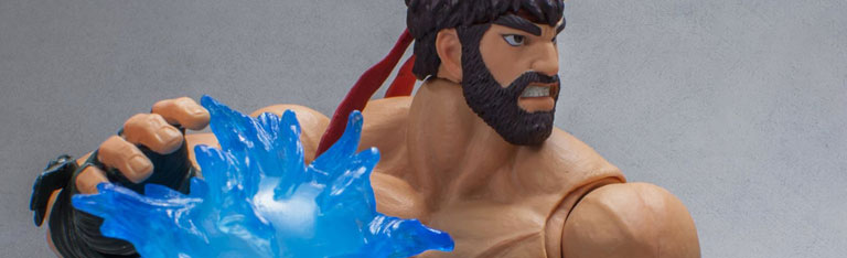 Hot Ryu & More 1/12 Street Fighter
