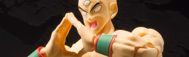 New Dragon Ball Z S.H.Figuarts Tien Shinhan