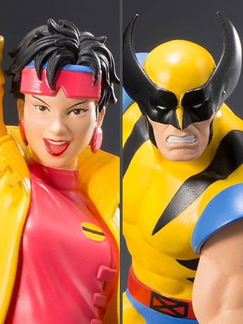 X-Men '92 ArtFX+ Wolverine & Jubilee Statue Two Pack & More Koto Marvel