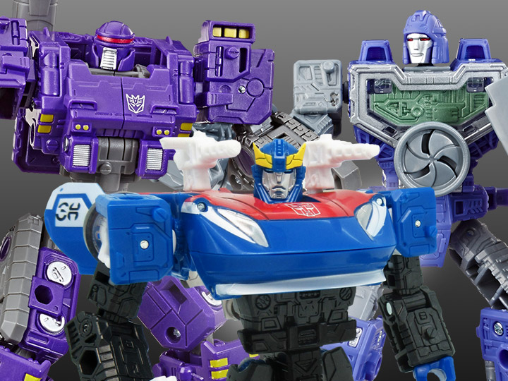 Transformers War for Cybertron Refraktor & Brunt, Generations Selects Deluxe Smokescreen
